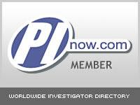 Proud Member of PInow.com - Worldwide Investigator Directory.
